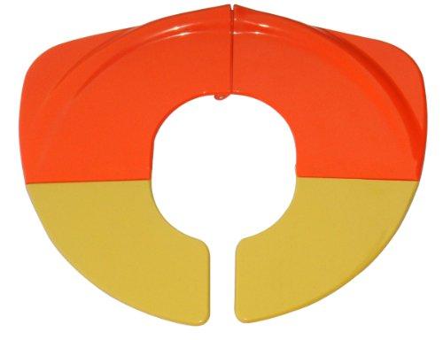 BeBeLove USA Folding Toilet Seat for Toddlers, Orange