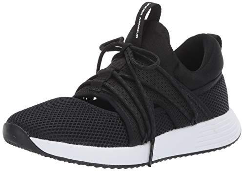 Under Armour Women's Breathe Sola Sneaker, Black (001)/Black, 9 Black Friday Deals 2019