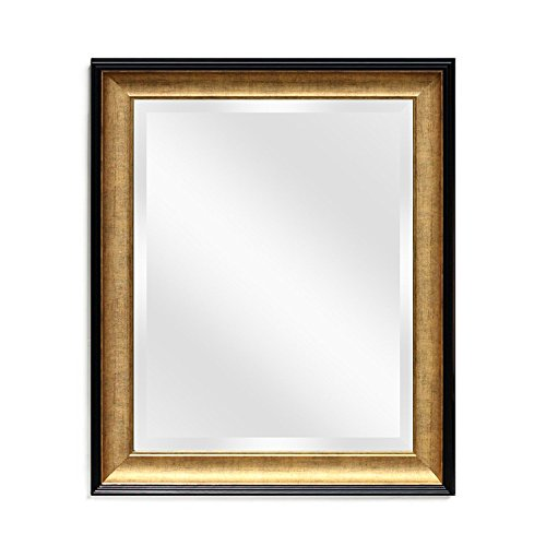 orative Vanity - Bathroom Rectangular Antique Beveled Frame 20x24