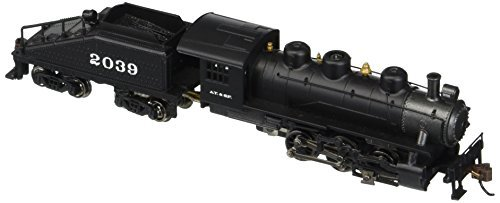 USRA 0-6-0 SWITCHER W/SLOPE-BACK TENDER - STANDARD DC -- SANTA FE (Switcher Santa)