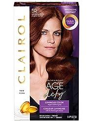 Clairol Age Defy Expert Collection, 5R Medium Auburn...