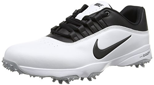 Nike Men's Air Zoom Rival 5 Golf Shoes, White/Black/Wolf ...