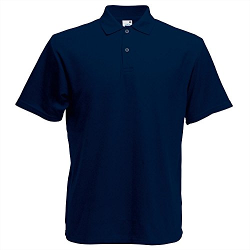 Fruit of the Loom Screen Stars Original Polo - Deep Navy - XL