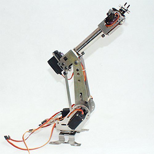 Amazon com: HITSAN DIY 6DOF Aluminum Robot Arm 6 Axis