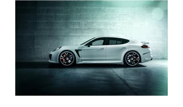 Amazon.com: 2014 Techart Porsche Panamera Turbo Grandgt 4 12X18 Metal Wall Art: Posters & Prints
