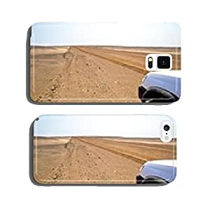 Road in the desert cell phone cover case Samsung S5