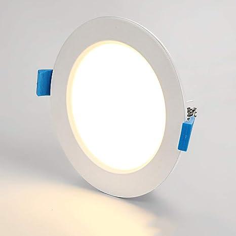 Modenny Lámpara empotrada LED de 18 vatios en el techo ...