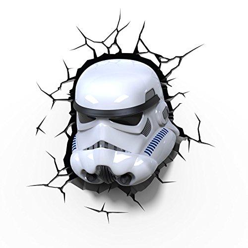 Star Wars Stormtrooper 3D LED Wall Light For Sale