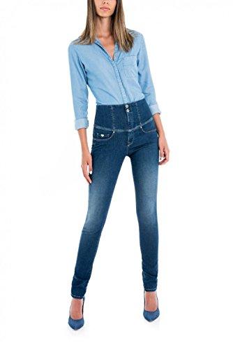Azzuro Con Salsa Skinny Soft Jeans Diva Touch nqwgP0Uw