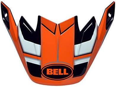 BELL Moto 9/Flex MX Helm//Ersatzteil Peak/ /FACTORY orange//schwarz