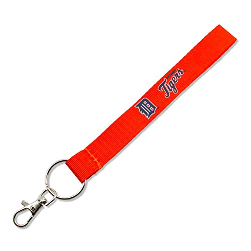 aminco MLB Detroit Tigers Wristlet Key Ring -