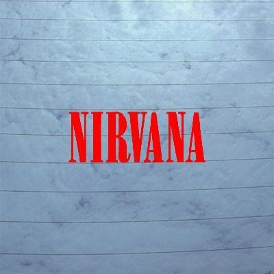 Amazon.com: Adhesive Vinyl Grunge Kurt Cobain Window Nirvana Wall ...