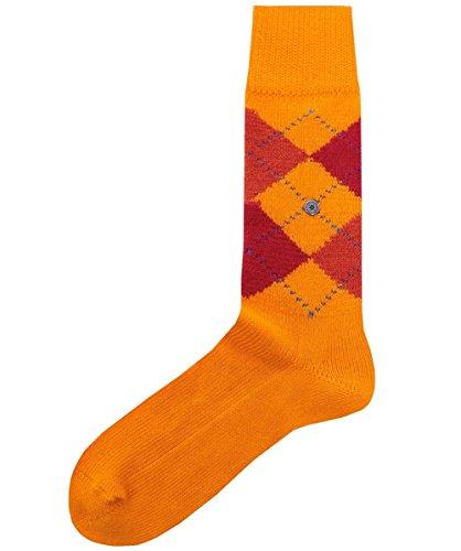 Burlington Men's Preston Socks Pumpkin EU - Burlington Men