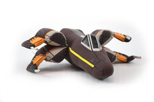 Joy Toy 83502 20 cm Star Wars Poe's X-Wing Vehicles Fighter Plush Toy