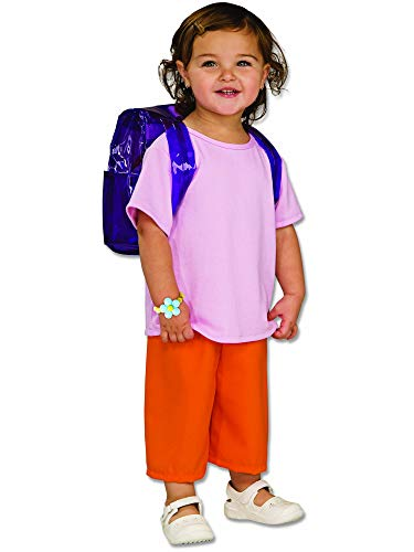 Rubies Dora The Explorer Deluxe Costume, Toddler ()