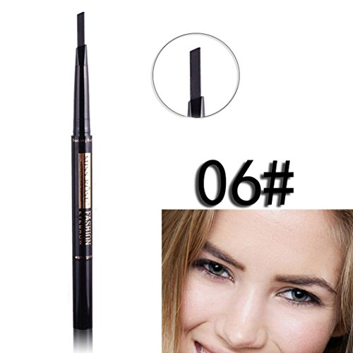 Waterproof Eye Brow Eyeliner Baomabao Eyebrow Pen Pencil With Brush Makeup Cosmetic Tool (E)