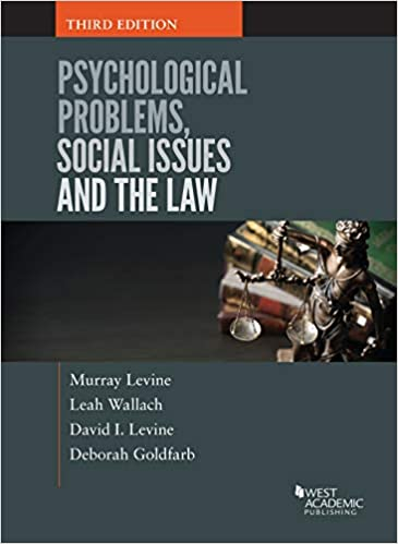 Psychological Problems, Social Issues and the Law: Murray