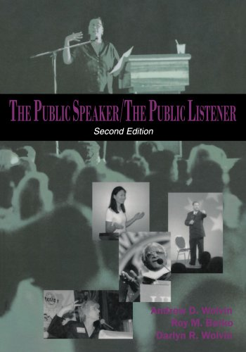 The Public Speaker / The Public Listener