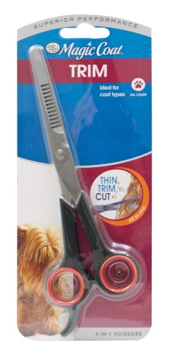 Four Paws Magic Coat Dog Grooming 3-In-1 Scissors
