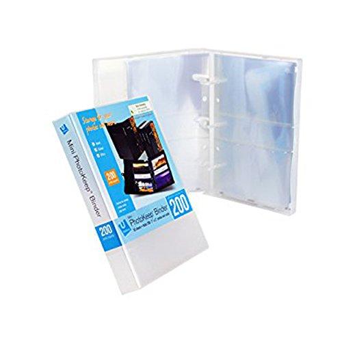 Mini PhotoKeep Binder w50 - 3x5 inch Photo Pages (Clear)