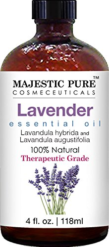 Majestic Pure Lavender Oil, Natural, Therapeutic Grade, Premium Quality Blend of Lavender Essential Oil, 4 fl. Oz by Majestic Pure (Image #2)