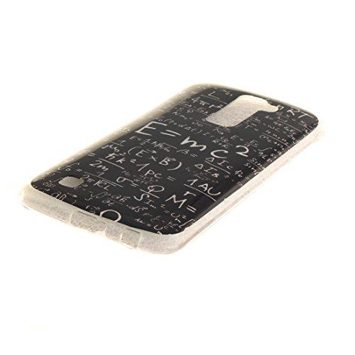 Antichoc K10 Transparent Couverture En Slim Bord Fit Scratch Cas Résistant Souple De Silicone De Cas Téléphone Protection Motif Peint equation LG Hozor Arrière TPU 5FOqzBPw