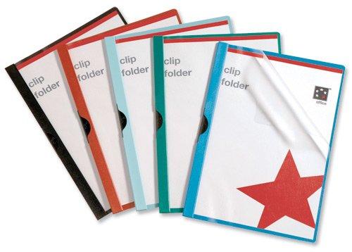 5 Star Klemm-Mappe Klemm-Mappe Klemm-Mappe 6 mm Rücken für 60 Blatt A4 25 Stück schwarz B000I2F9D8 | Offizielle Webseite  f7f04f