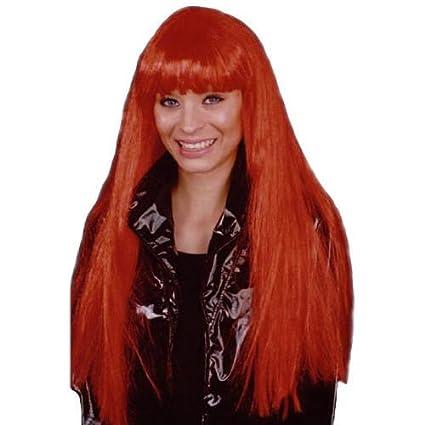 Cher peluca roja