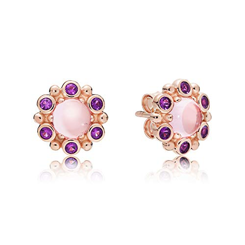 (Pandora Rose Heraldic Radiance Stud Earrings 287728NPM)