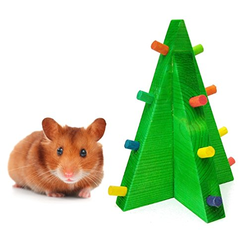 Cheap Christmas Tree Hamster Chew Toy – Hamster Christmas Toys