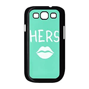 FLYBAI Stylish His and Hers Hubby Wifey Matching Couple Phone Case For Samsung Galaxy S3 I9300 [Pattern-6]