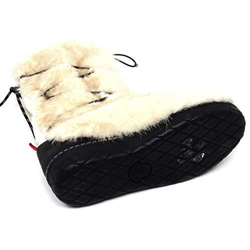 F1158 Doposci cream Shoe Snow Man Beige Uomo Moncler panna Beige Boot Stivale fFxqUSFd