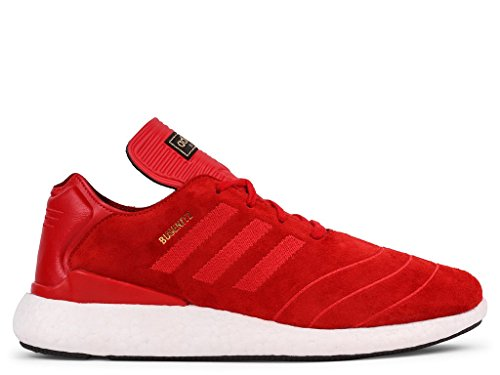Adidas Men Busenitz Pure Boost (red / scarlet / white) Size 8.5 US ZCY5X9