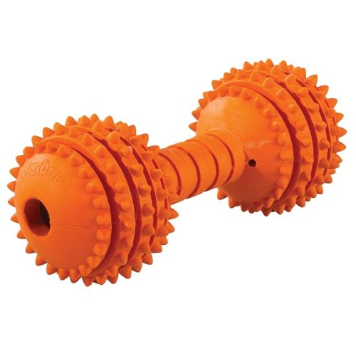 JW Pet Company Chompion Middleweight Dog Toy (Colors Vary)