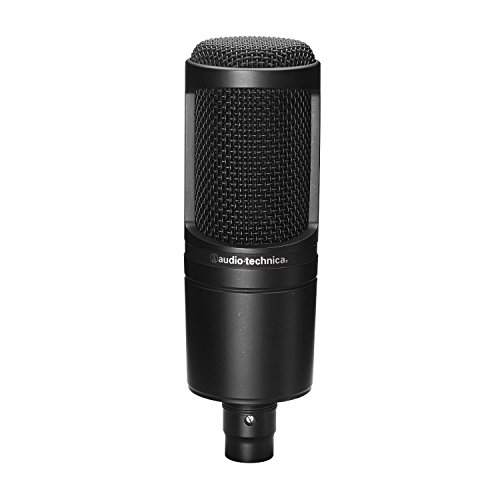 Audio Technica At2020 Studio Condenser (Audio-Technica AT2020 Cardioid Condenser Microphone (Certified Refurbished))