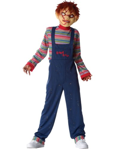 [Chucky Costume - Large/X-Large] (Chucky Costume For Kids)