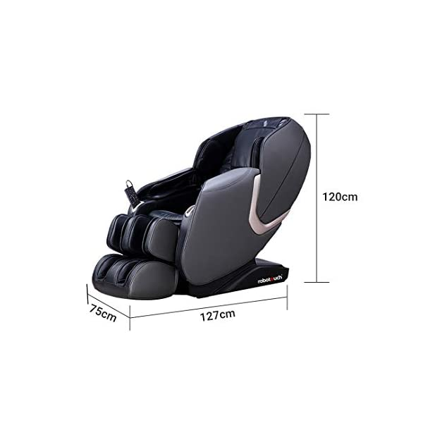 4168wG9%2BP8L Robotouch Urban Full Body Massage Chair (Black)
