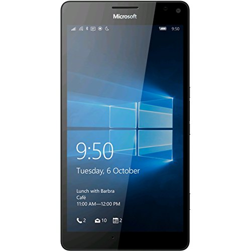 "Price comparison product image Microsoft Lumia 950 XL (Factory Unlocked) 5.7"" 20mp 3gb RAM 32gb 4g Smartphone(white)"