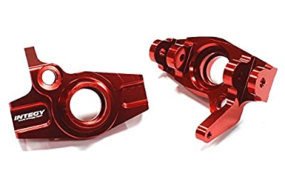 Integy RC Hobby T6699RED Snowmobile & Sandmobile Option Front Steering Block for Savage XL, Flux & X 4.6