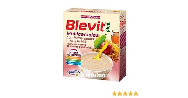BLEVIT PLUS MULTICEREALES FRUTOS SECOS MIEL Y FRUTAS 600 GRAMOS: Amazon.es: Salud y cuidado personal