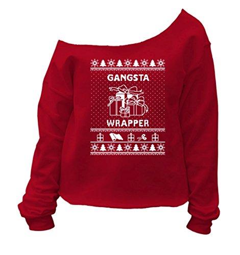 Heavyweight Custom Knit Cap - Funny Gangsta Christmas