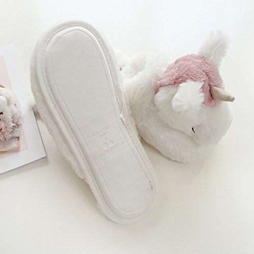 Ladies Household Winter amp; Unicorn ChicPro For Soft Women Warm Fluffy Slippers Home Cute Slippers BBTxqO8nw