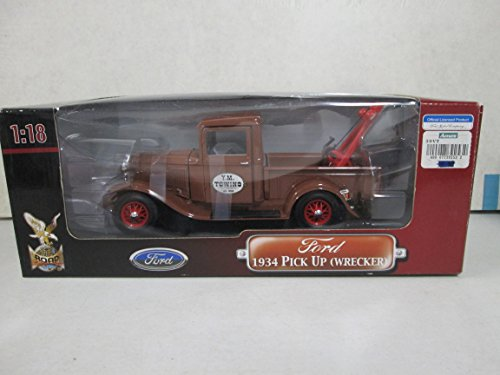 Yat Ming 1934 Ford Pick Up (Wrecker) Y. M. Towing Deluxe Edition 1:18 Scale