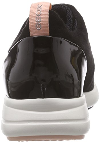 Ophira Black Zapatillas Negro Geox para D a Mujer znw05T