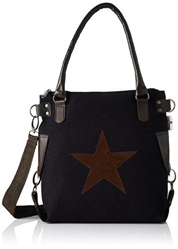 a Bags4Less Donna Canvas Stern Schwarz tracolla Borsa schwarz mini ttw4qP1