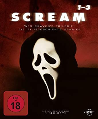 Scream 1 3 Trilogy Blu Ray Amazonde Neve Campbell David