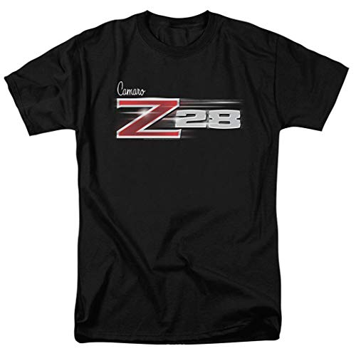Z-28 Camaro Chevy Vintage Car Logo T Shirt (Medium) - Black Vintage Logo T-shirt