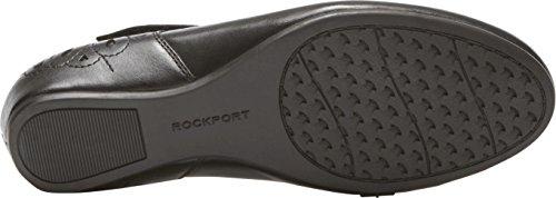 Rockport Kvinners Ch Sharleen Maryjane Sko, Størrelse: 6 W, Farge Sort Lthr