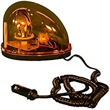 Cortina Safety Products 22-56525 Rotating, Halogen, Tear Drop Strobe, 12V, Magnetic Mount, Amber