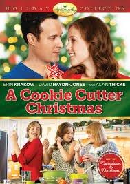Hallmark A Cookie Cutter Christmas DVD -  Christie Will Wolf, Erin Krakow